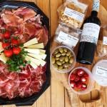 Antipasti en wijn pakket