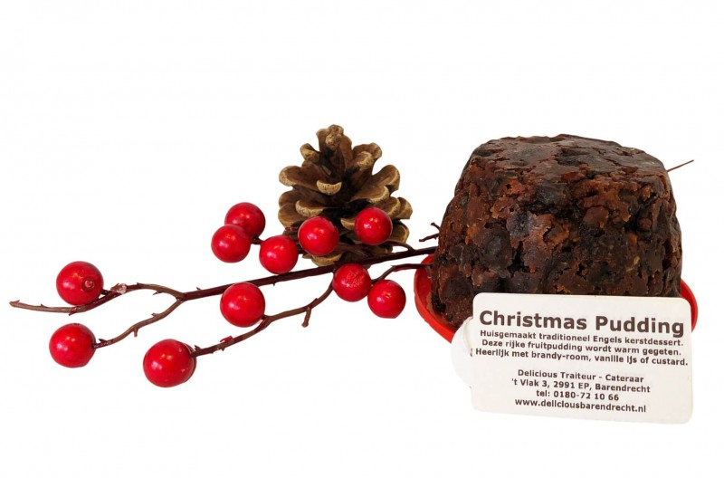 christmas pudding klein