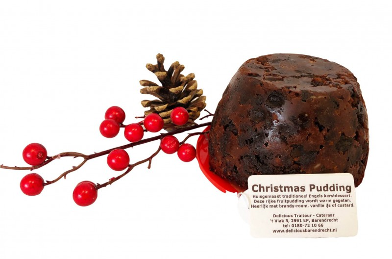 christmas pudding middel