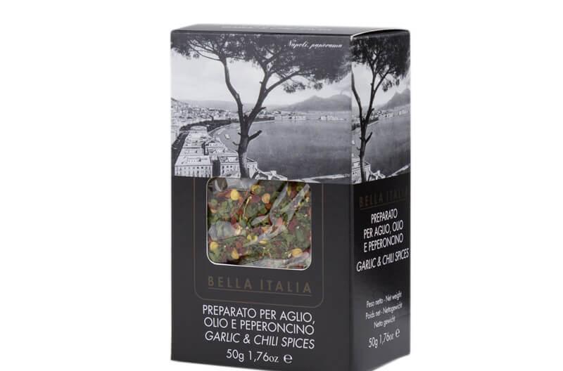 bella italia olio e peperoncino