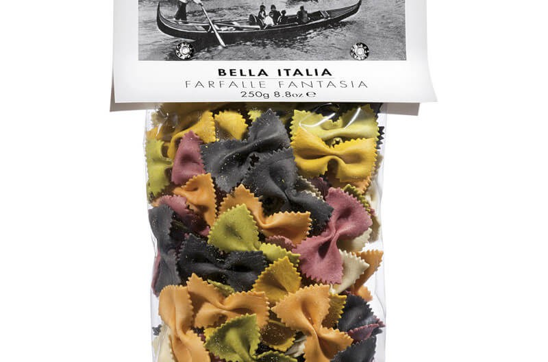 farfalle 6 sapori bella italia